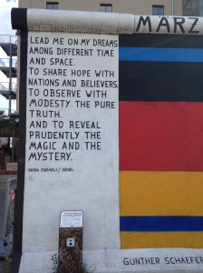 East Side Gallery art